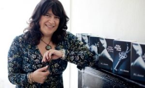 E L James and her books