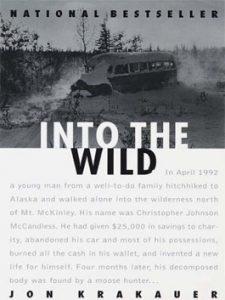 Into the wild written by Jon Krakauer