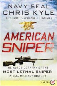 American sniper paperback edition cover