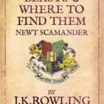 fantastic beasts and where to find them epub book cover