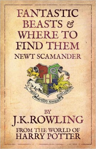 fantastic beasts and where to find them pdf book cover