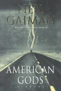 American Gods novel book cover