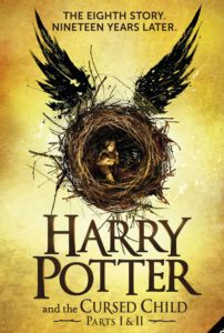 Harry Potter and the Cursed Child Book Poster cover image