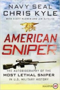 American sniper paperback edition cover