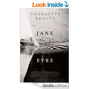 Jane Eyre kindle book cover, Jane Eyre [PDF] book cover