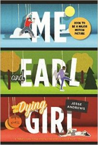 Me and Earl and the Dying Girl epub novel cover