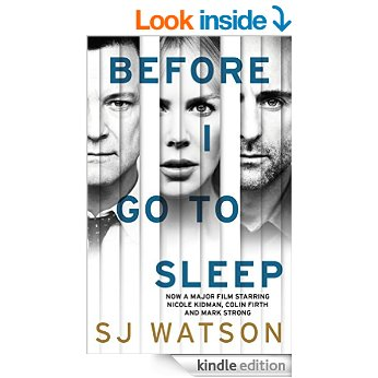 before i go to sleep kindle cover