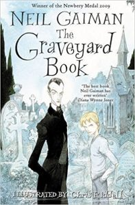 the graveyard book neil gaiman kindle cover